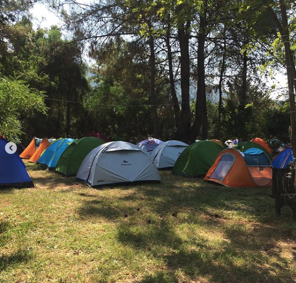 Ahbap, Saklıgöl Nature Club, Marmaris'te