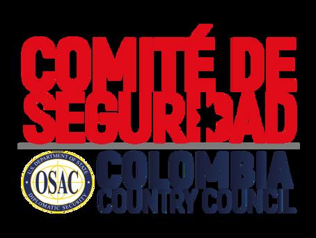Comité de Seguridad CEA - OSAC junto a Edelman