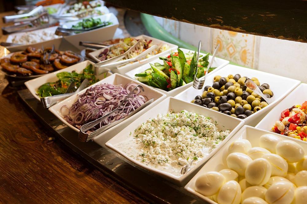 Local Specialities in Lido Restaurant, Riga