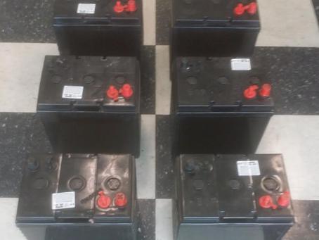 Factory Second AGM Golf Cart Batteries