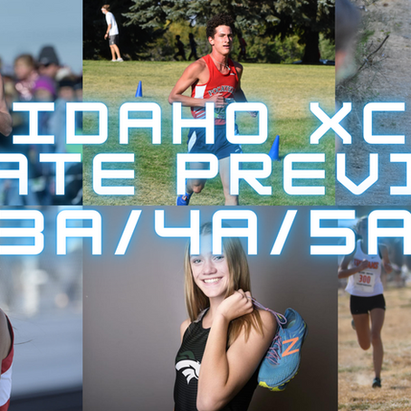 Idaho State XC Preview: 3A/4A/5A