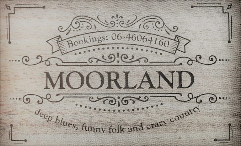 Moorland speelt folk, country en blues