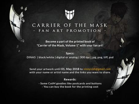 Fan art promotion