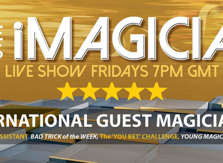 iMagician Live is Back- 7pm This Friday