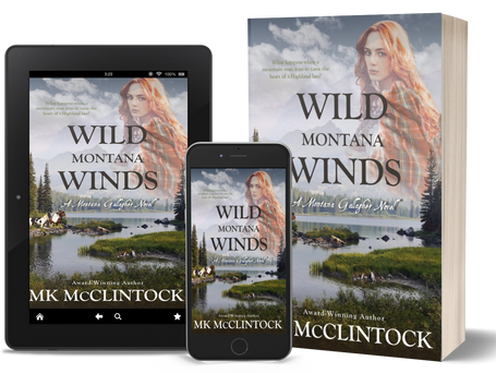 New Historical Western Romance: Wild Montana Winds