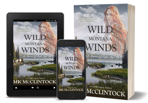 Wild Montana Winds by MK McClintock, a historical western romance
