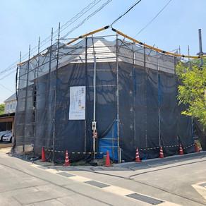 まんまるコッペ店舗建設 屋根工事