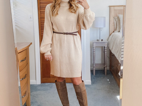 Sweater Dresses Are Now My Thing