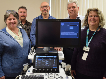 New ultrasound equipment at West Coast General Hospital offers improved image