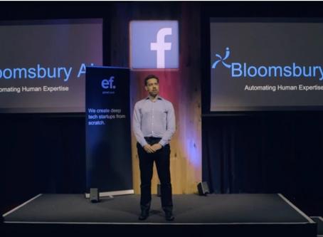 Facebook收購人工智能科創Bloomsbury AI