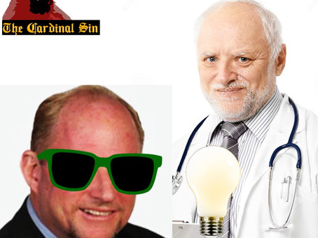 The Cardinal Sin - Childhood Doctor : Bob Nightengale's Head Missing Bright Lights It Sorely Needs