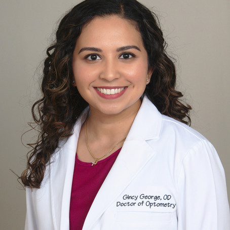 Welcome to our practice Dr. Gincy George!