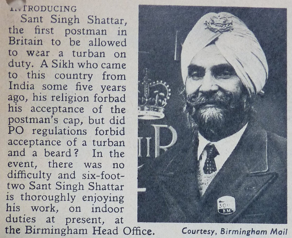 Source:The Postal Museum, London/ The Battle of the Turban