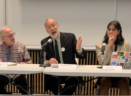 Our Environment is suffering and our Democracy is failing – Recap: Upenn's Climate Justice panel.