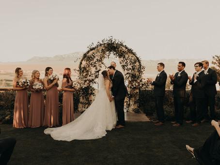 Tim & Katie's Romantic Wine Themed Wedding!