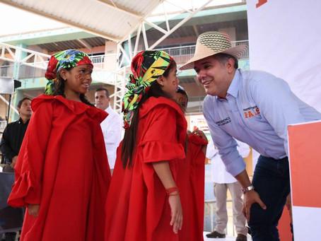 Duque anuncia $424 mil millones para llevar agua a toda La Guajira