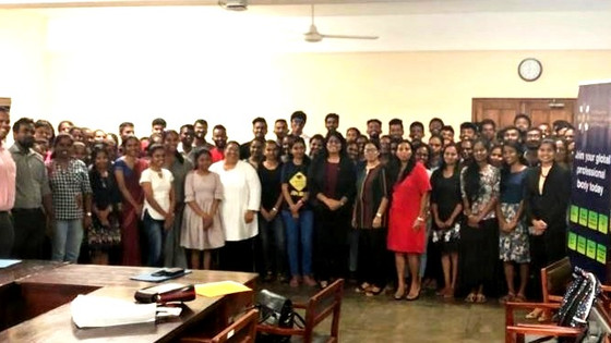 WiLAT & CILT SL conducts a successful Road Show at University of Sri Jayawardanapura, Sri Lanka.
