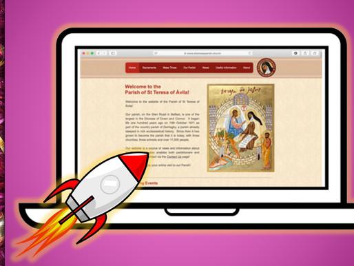 New Parish Website - Launch Event!