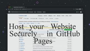 Uploading/Hosting a static site on Internet for FREE!