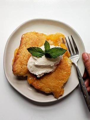 Vegan Peach Cobbler Recipe