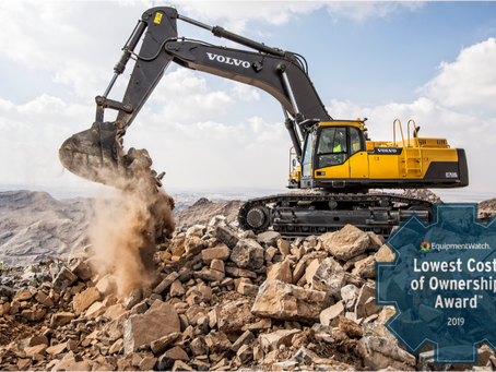 Volvo CE Scoops Up Awards for High Value, Low Cost