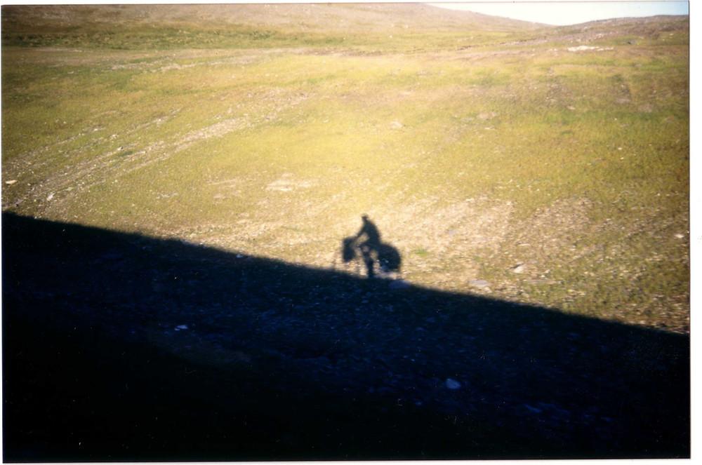 Une ombre dans l'immensité. Dominique Thévenet