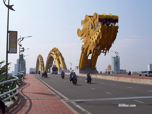 Da Nang, home of the Dragon Bridge
