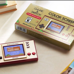 "RE-LANZAMIENTO DE ""GAME & WATCH"" DE NINTENDO"