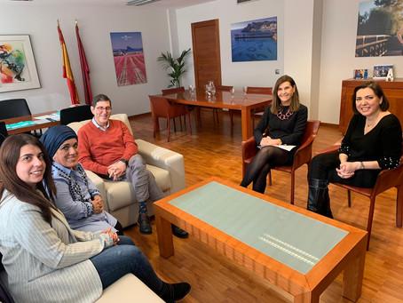 Reunión de trabajo con el Consejero de Salud de Murcia.