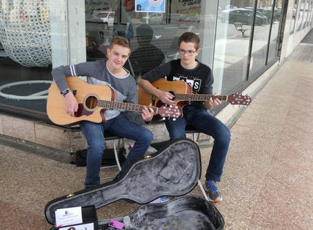Our Local Troubadours!