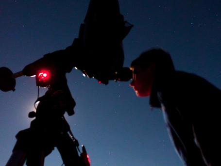 Astronomy public outreach at Mount Rainier National Park