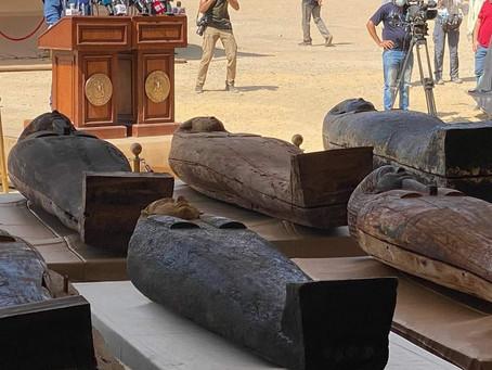 59 саркофагов в Саккаре