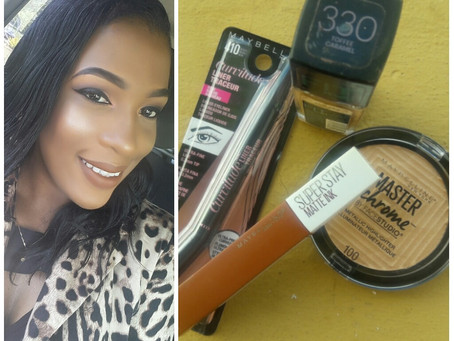 Review on four products from the @maybelline collection
