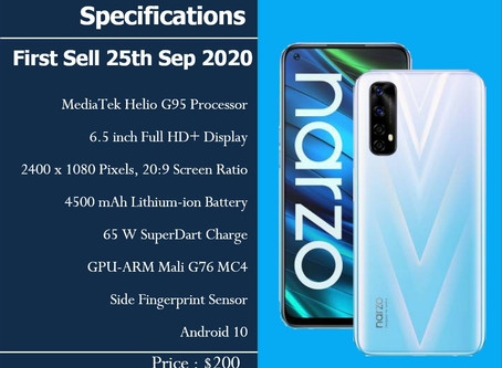 Realme Narzo 20 Pro - First Sell 25 Sep  2020, 12:00PM