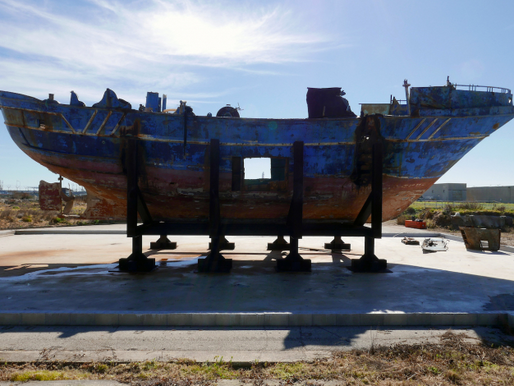 Ship in Which Hundreds of Migrants Died Will Be Shown at the Venice Biennale