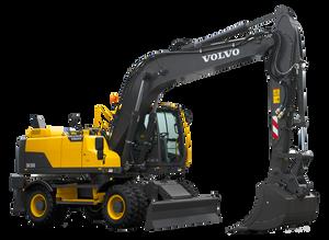 New Volvo Wheeled Excavators Available through HGACBuy