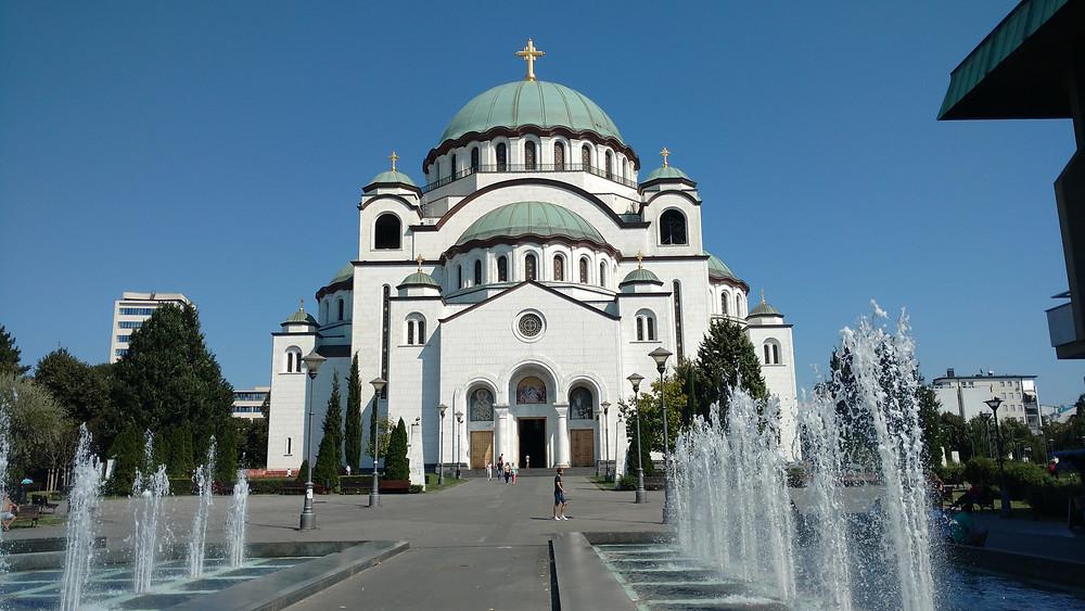 Templo São Sava, Sérvia