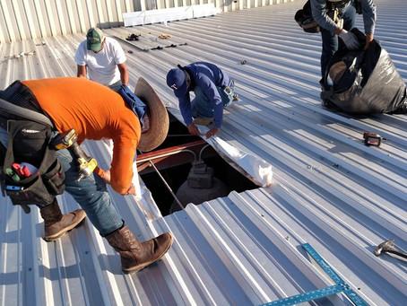 Metal Roofs being installed in Abilene, TX
