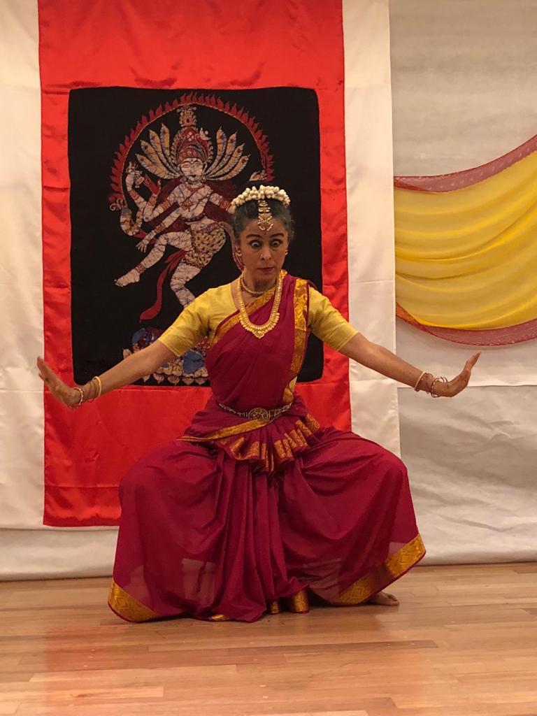 Geo Legorreta bailando Shiva Tandava destructor