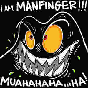 Manfinger is Fingerman's evil nemesis! He is the antimatter result of a failed scientific experiment. Get ready for new adventures with Captain Fingerman!
