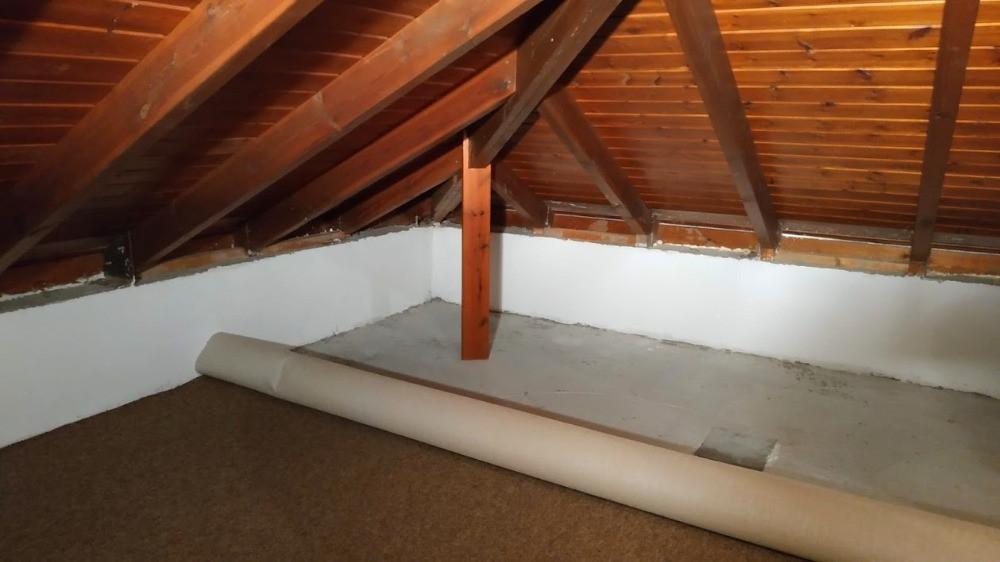 שטיח חדש בעליית הגג