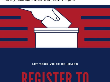 Register to Vote !!!