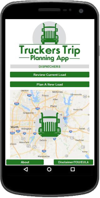 Truckers Trip Planning App For Dispatchers