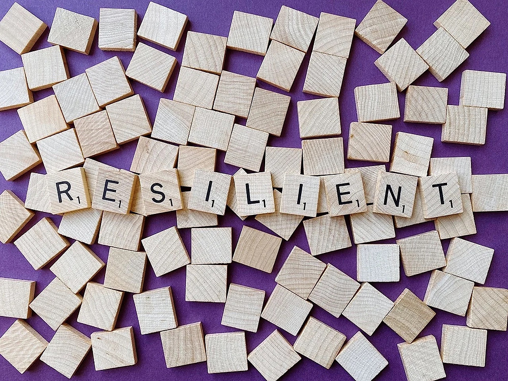 A graphic representing resilience.