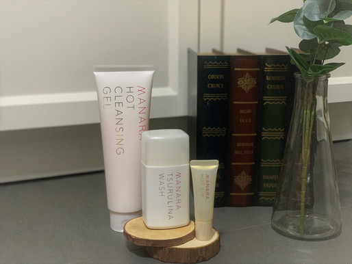 急救護膚 ⋱⋰ 日本人氣護膚化妝品牌 MANARA 三大皇牌 ⋱⋰ 打造零負擔健康肌底!