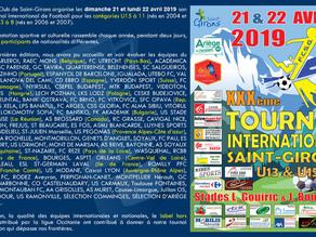100% SPORT ARIEGE ... Le TOURNOI international de football de SAINT GIRONS ...