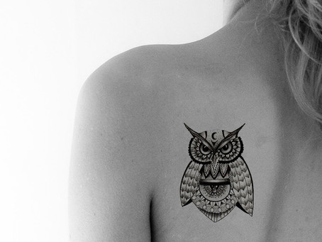 Tattoo symbols/The owl