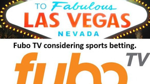 Here is something in the CTV space you can bet on. Fubo TV considering offering sports betting.