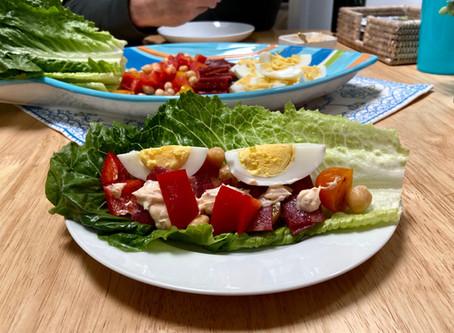 Chipotle BLTE Lettuce Wraps