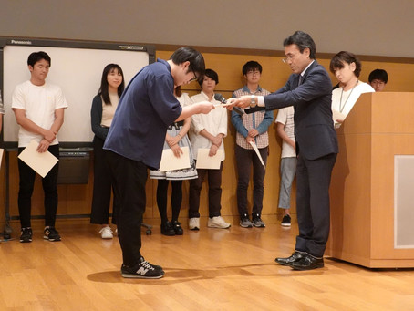 森川研3年生が学部長賞受賞!